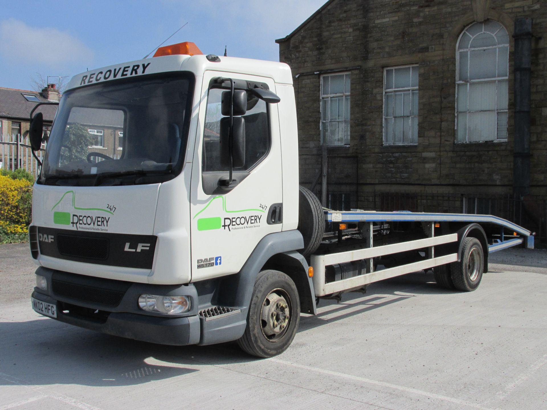 Roger Dyson Transloader DAF LF 45 7 5 Tonne Truck Car Transporter