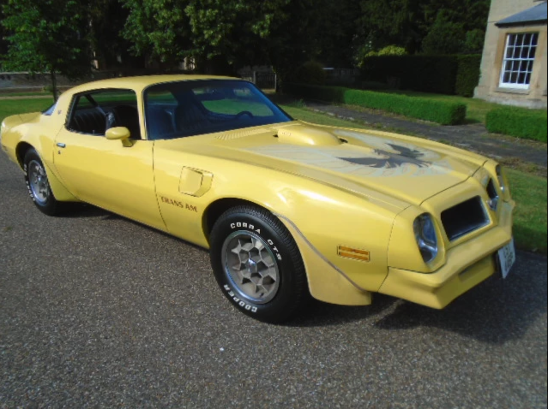 Lot 15 - 1976 Pontiac Firebird Trans-Am