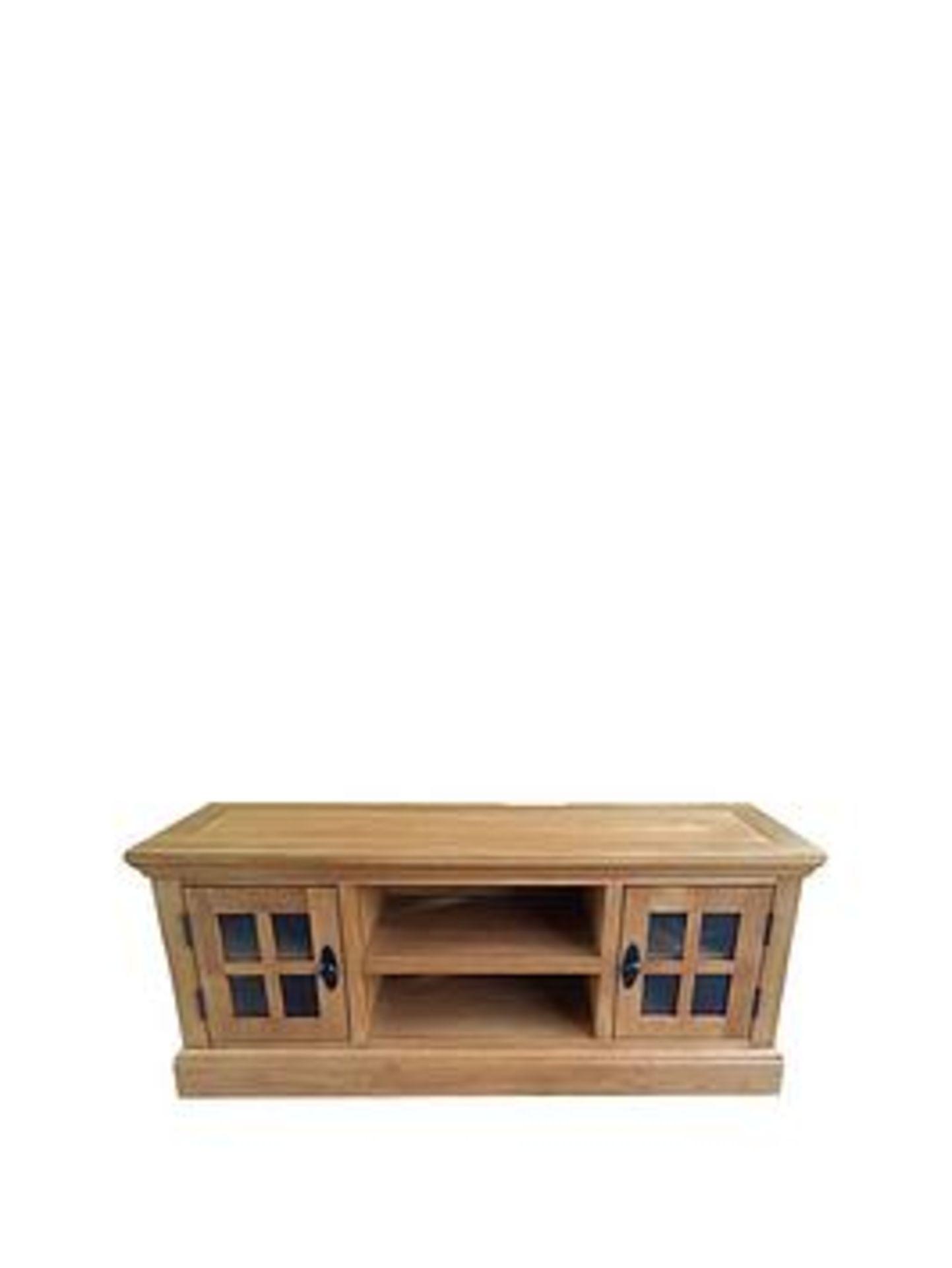 Lot 43 - Boxed Item Ideal Home Whitford Real Oak 2Pc Living Room Set [Oak] Rrp:£828