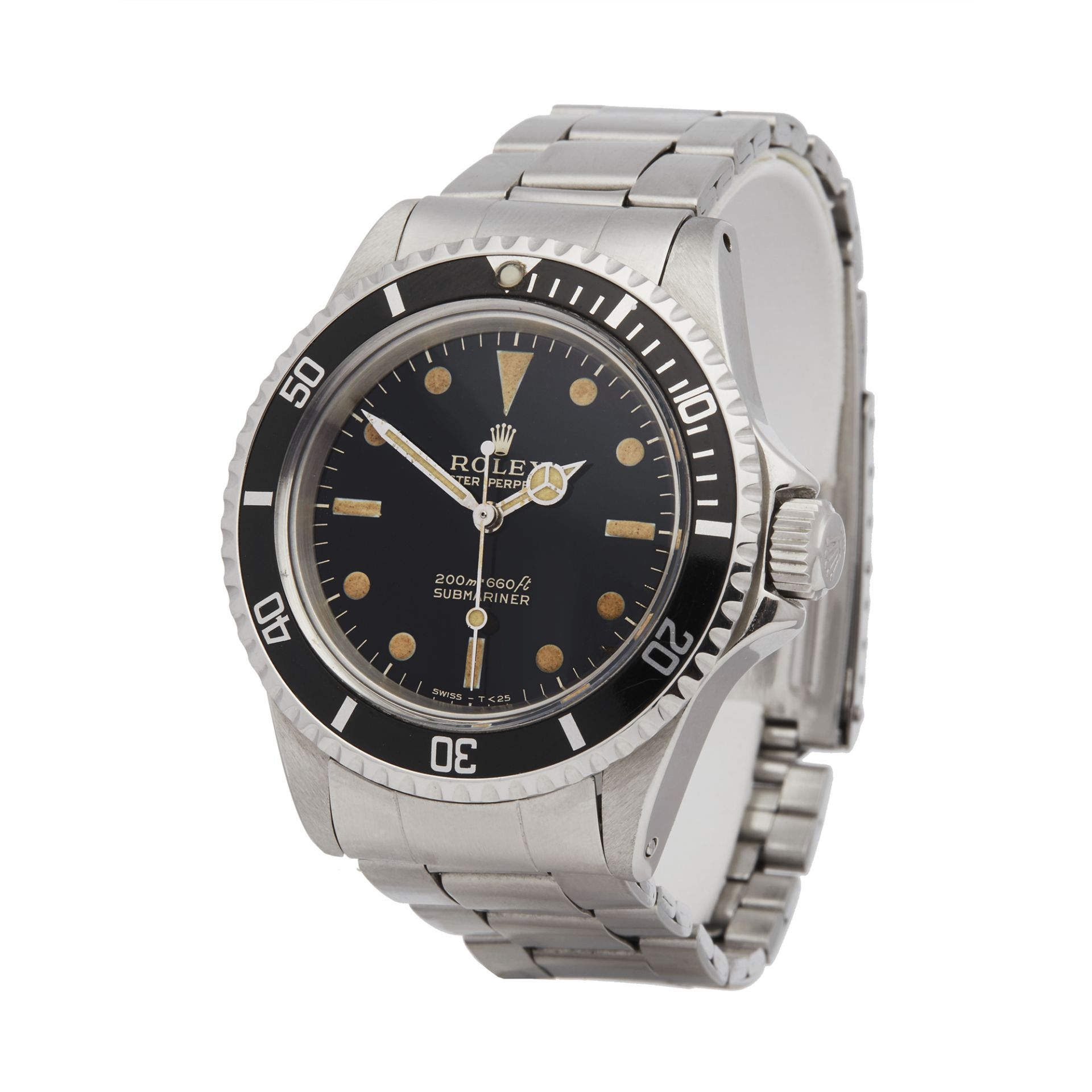 Lot 6 - 1967 Submariner Non Date Gilt Gloss Stainless Steel - 5513