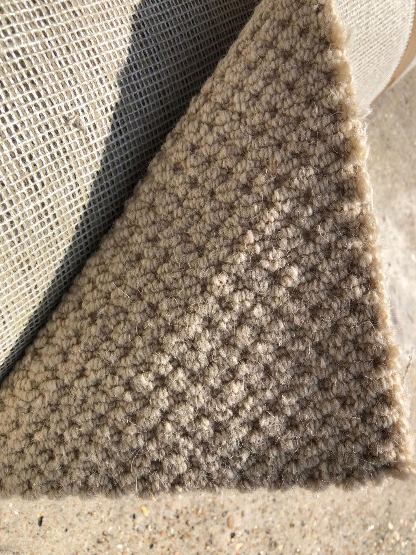 Lot 16 - Patterned Twist Wool 4.97 x 2.9