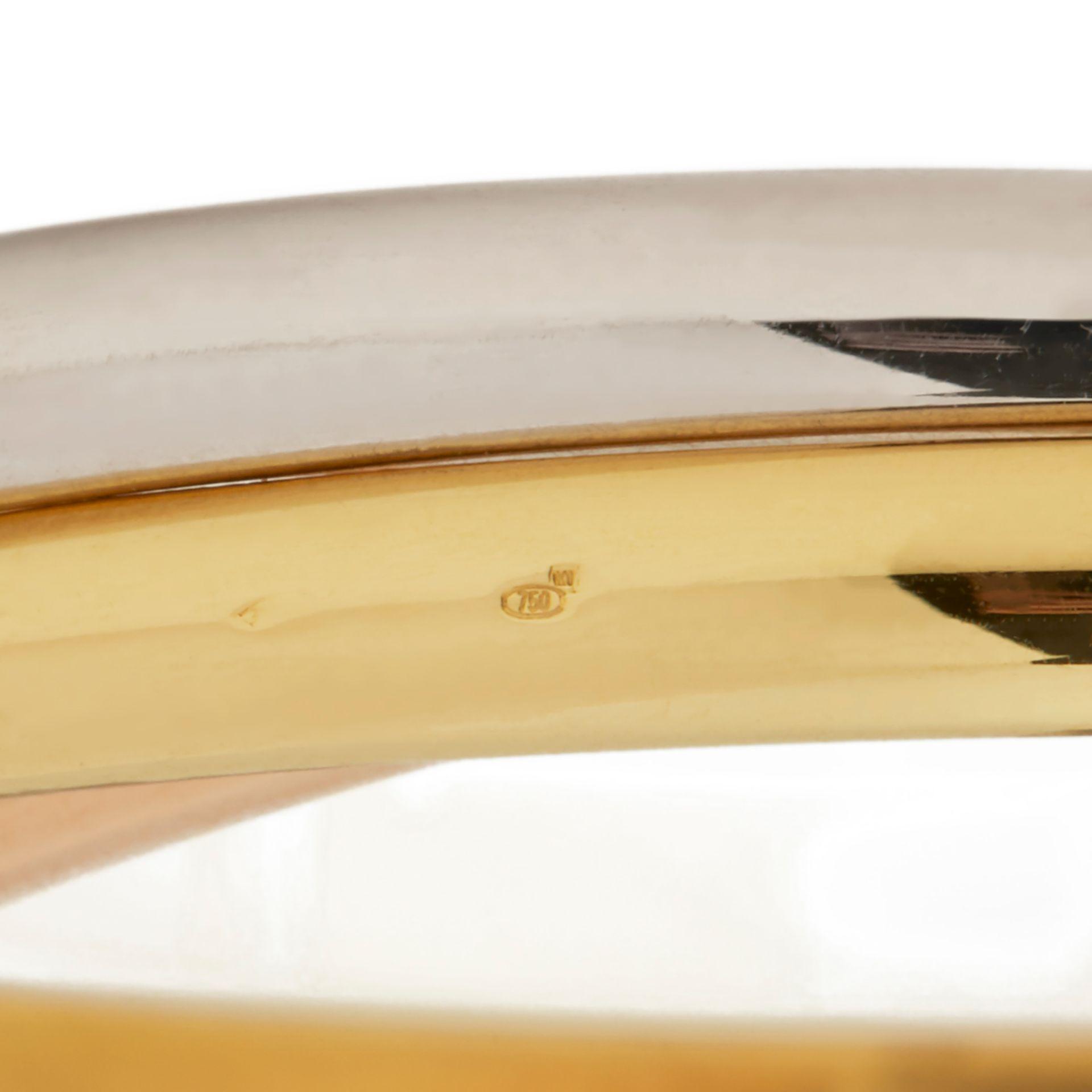 Lot 29 - 18k Yellow, White & Rose Gold Medium Trinity Bracelet