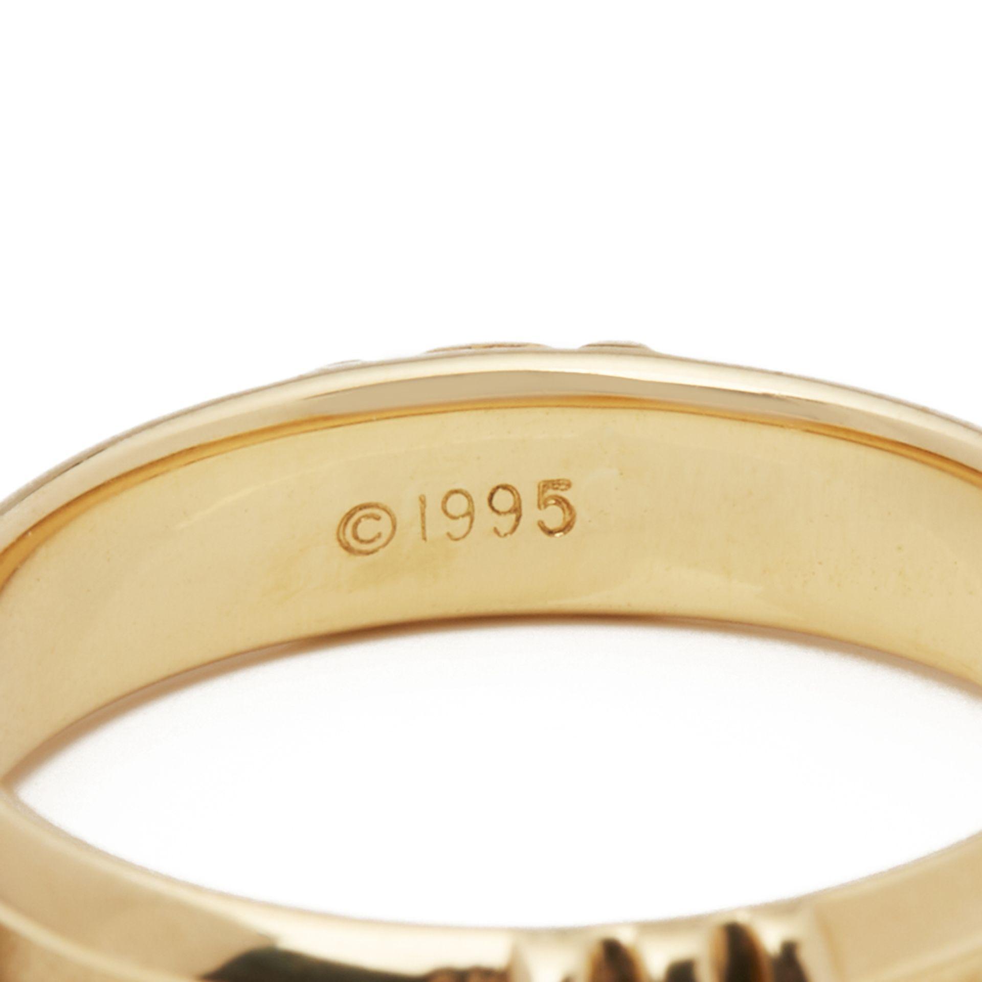 Lot 5 - 18k Yellow Gold 1995 Atlas Ring