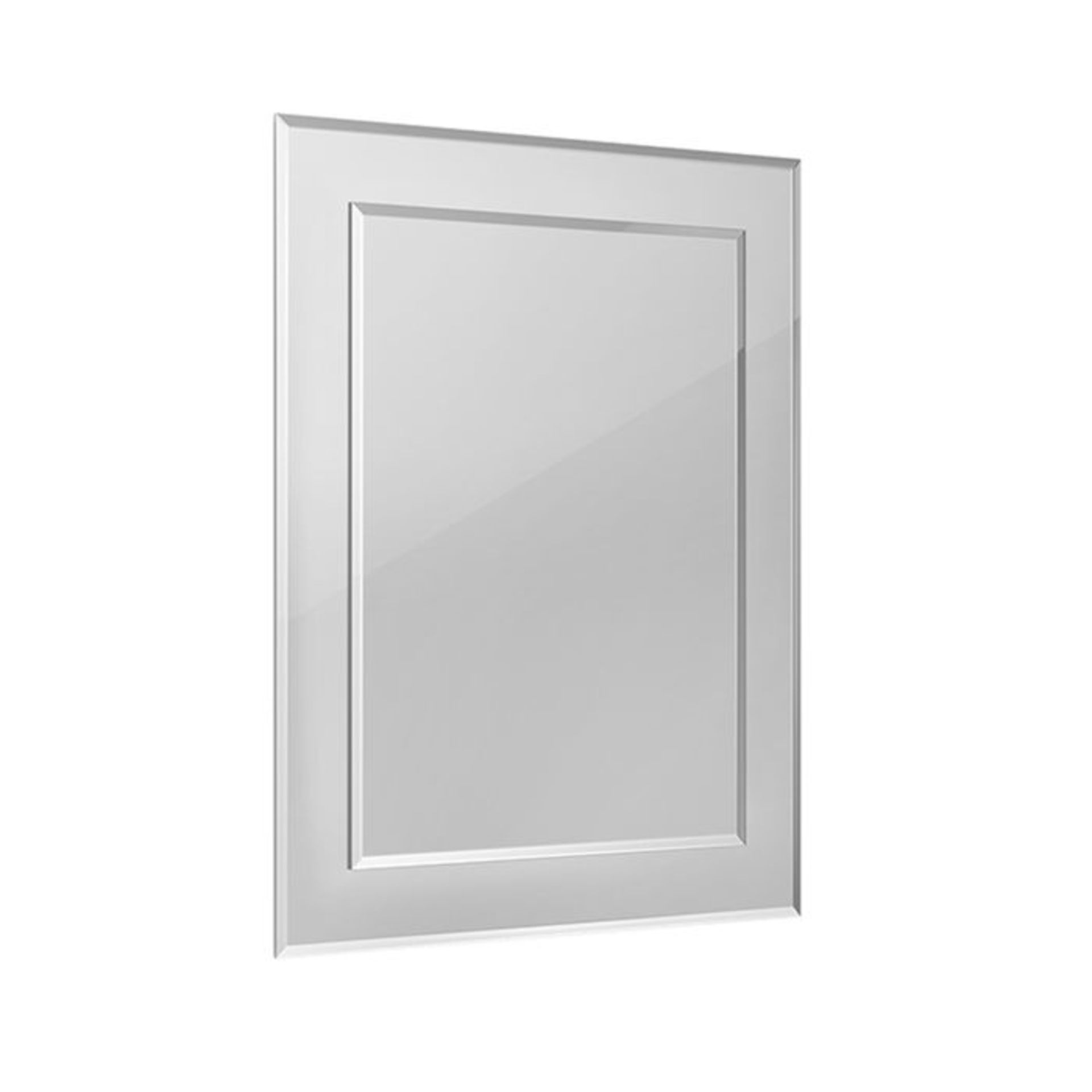 Lot 59 - (XX40) 400x500mm Bevel Mirror. Smooth beveled edge for additional safety Supplied fully assem...