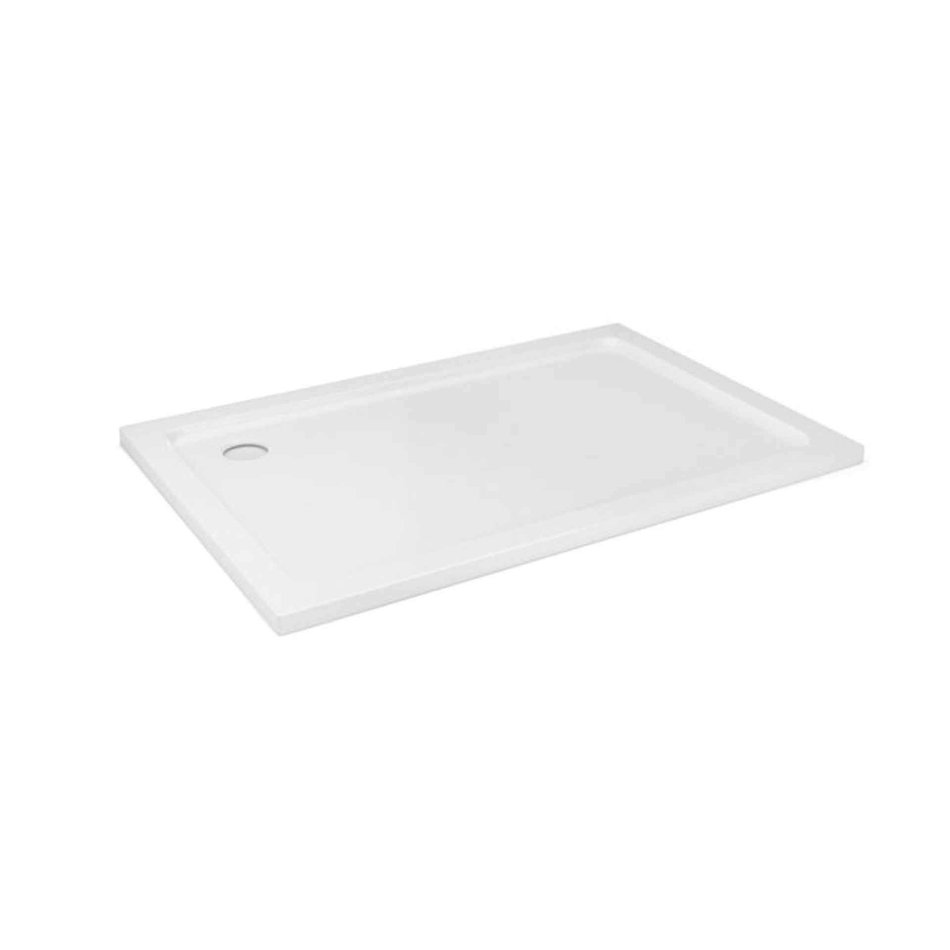 Lot 48 - (XX34) 1200x800mm Rectangular Ultra Slim Shower Tray. RRP £334.99. Constructed from acrylic ca...