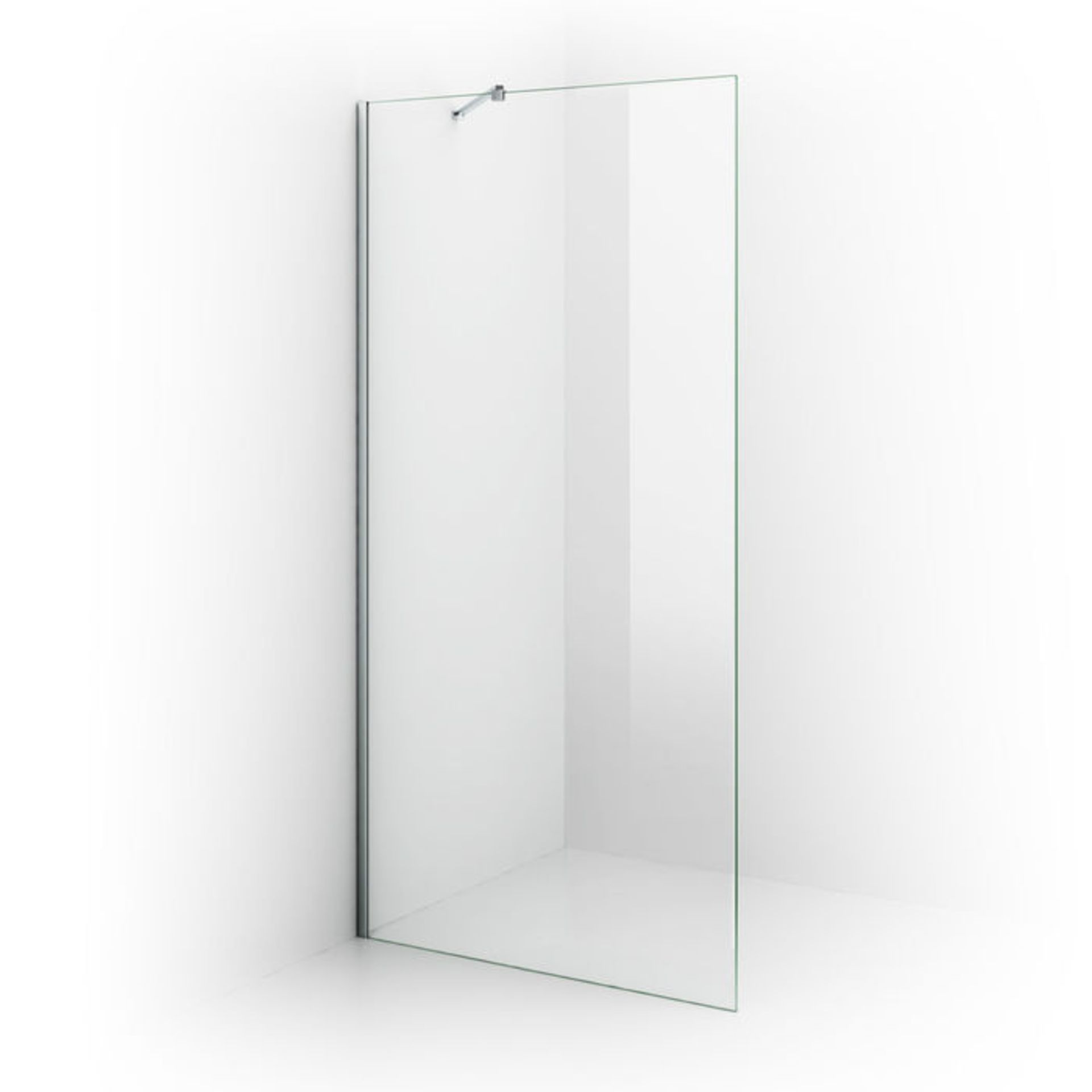 Lot 38 - (XX25) 1200mm - 8mm - Premium EasyClean Wetroom Panel. RRP £499.99. 8mm EasyClean glass - Our ...