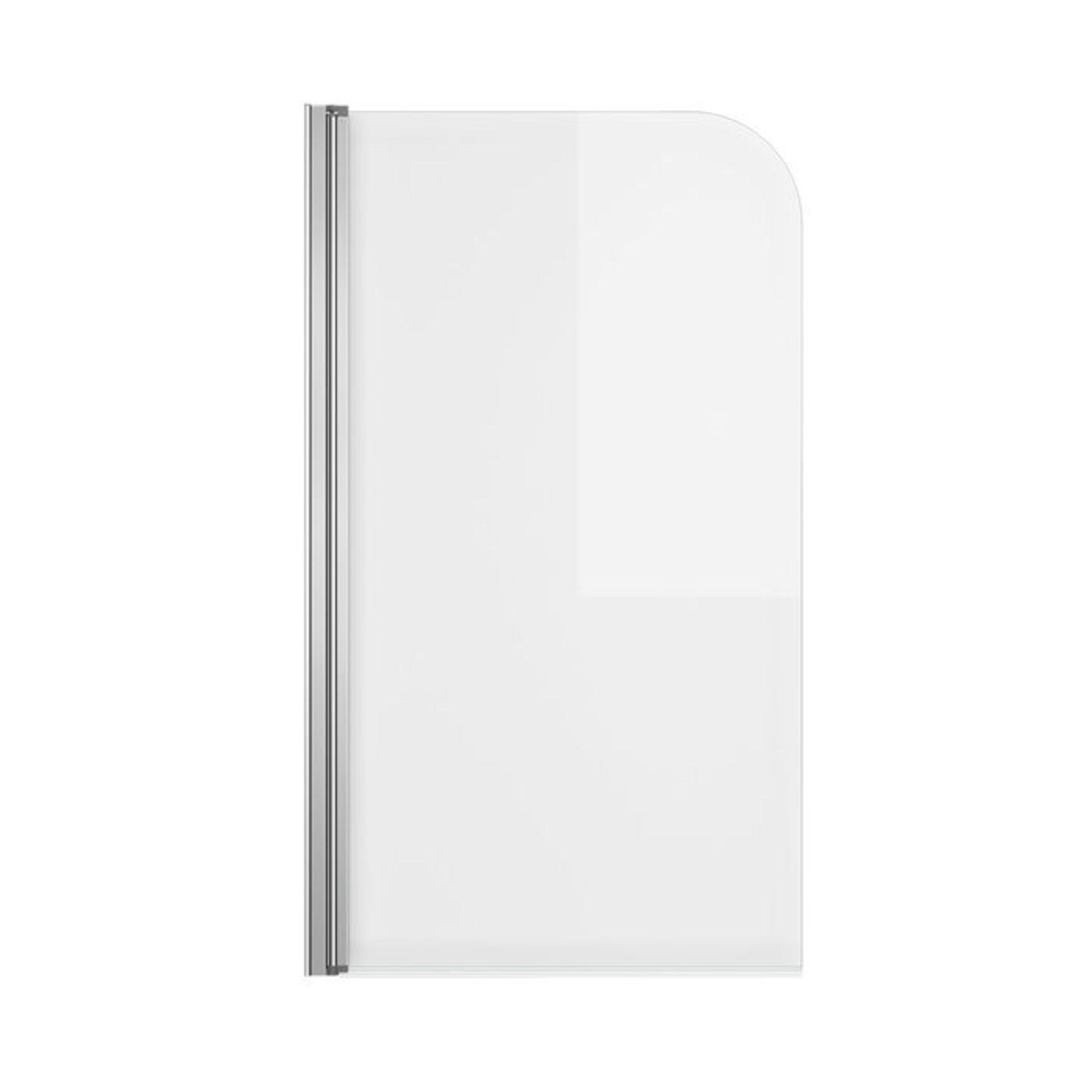 Lot 46 - (XX32) 800mm Bath Shower Screen. RRP £249.99. Great addition to your shower bath 4mm tempered...