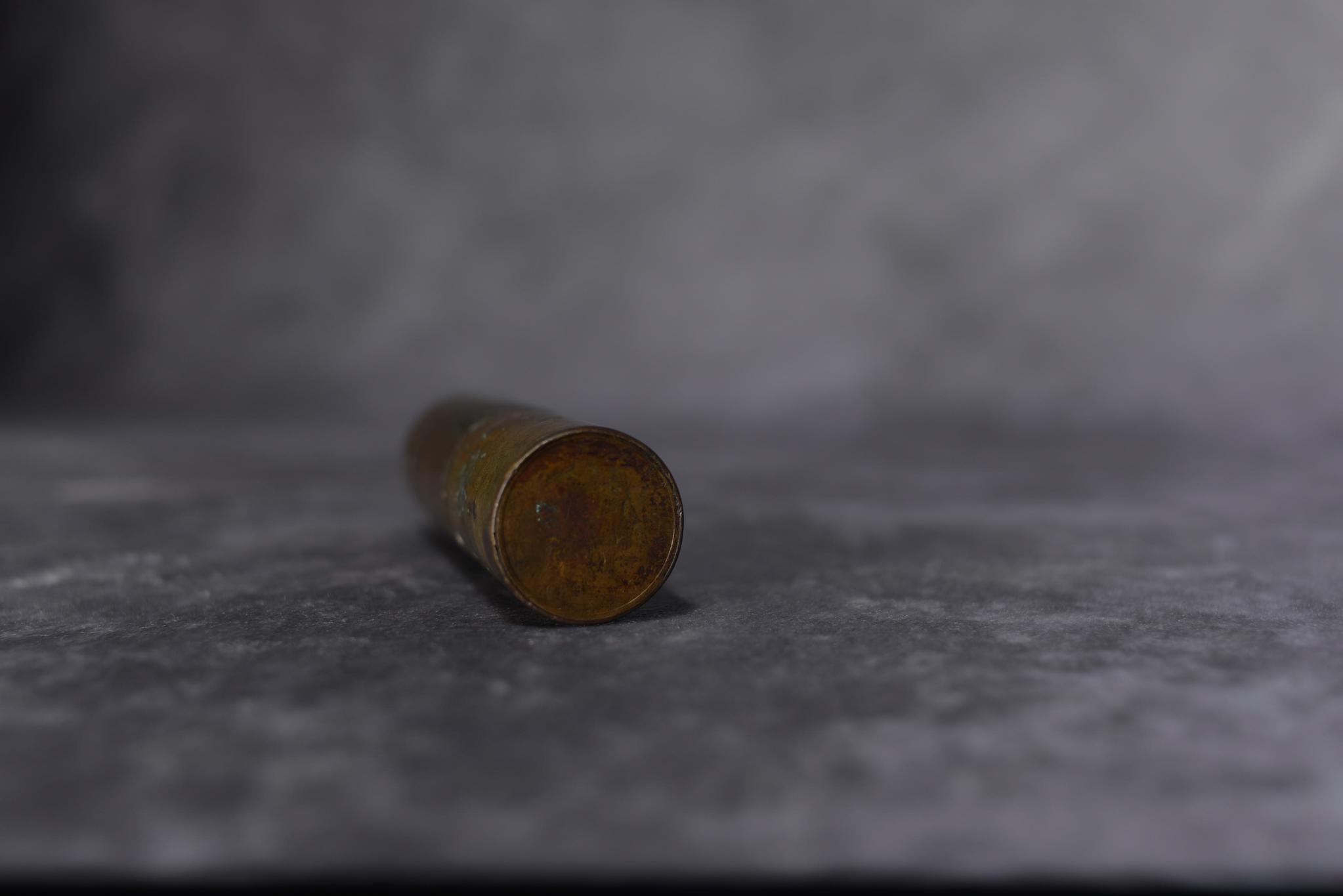 Lot 35 - WWI Trench art cigarette lighter
