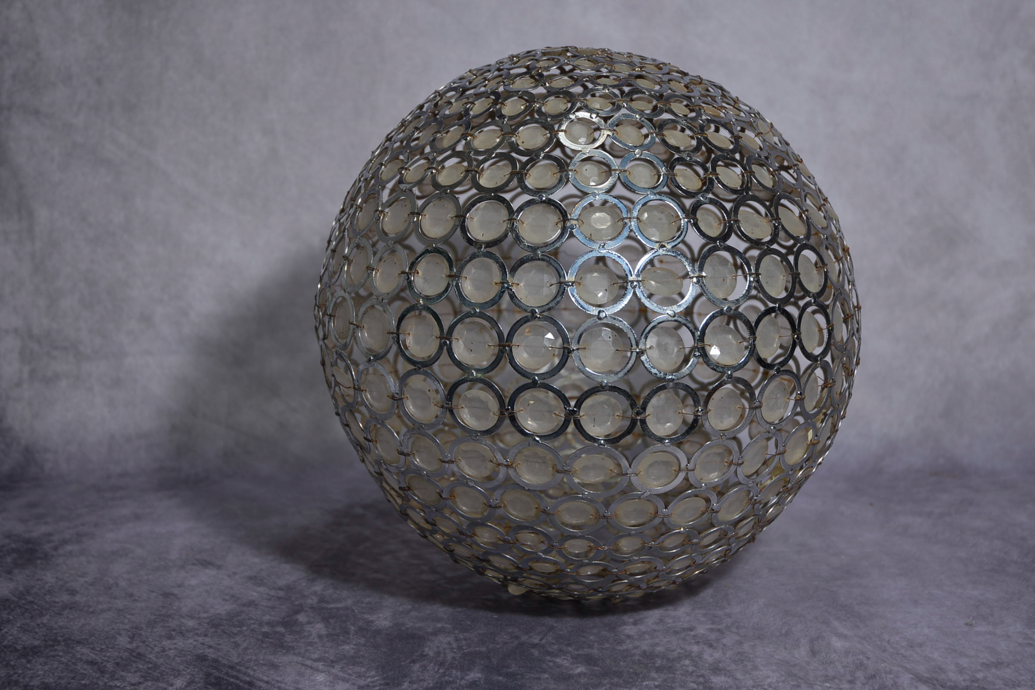 Lot 57 - Rare 1970's spherical light shade