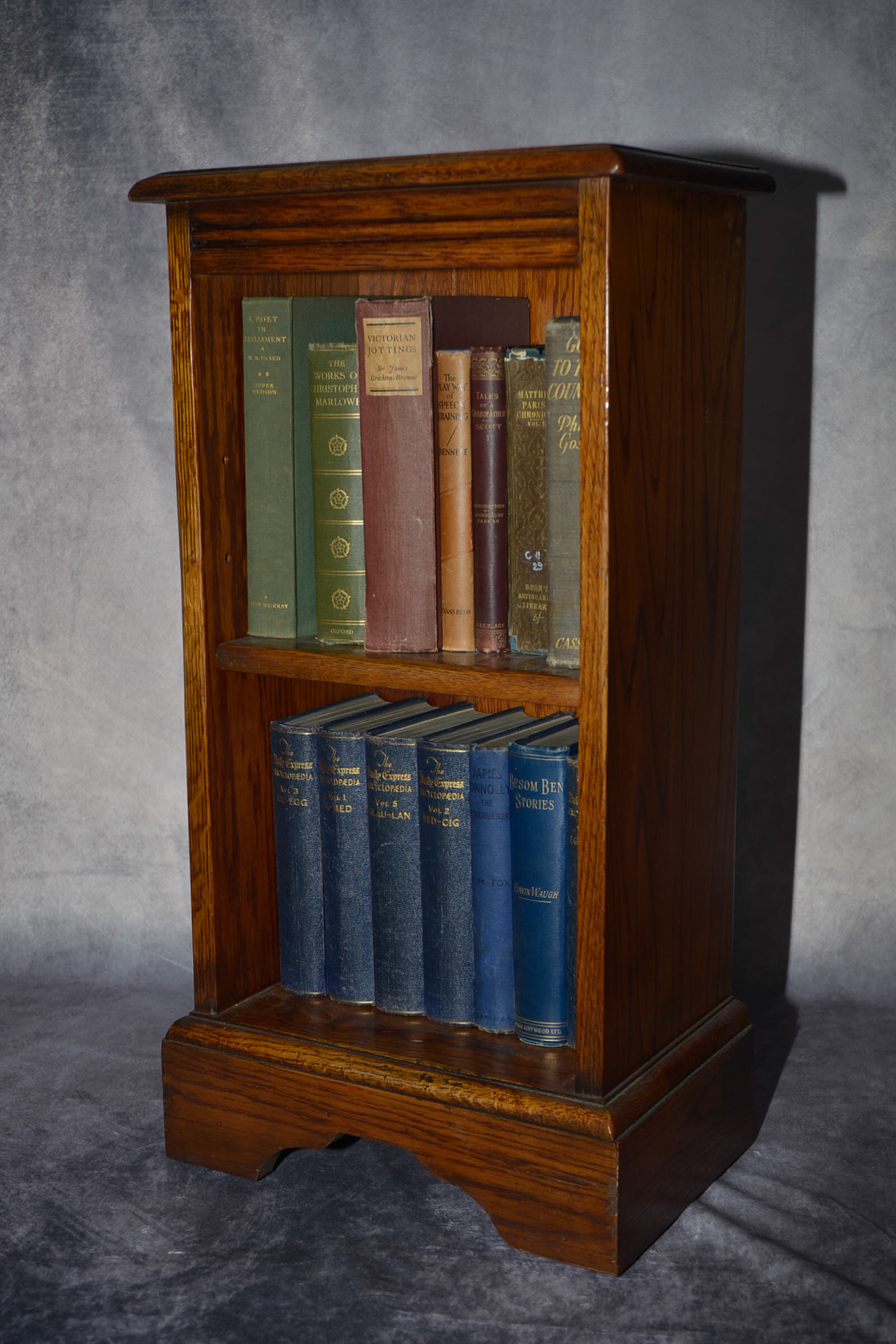 Lot 60 - Hand crafted Oak bookcase