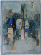 "Richard D Hazelwood original signed Collage ""Continental Drift"""