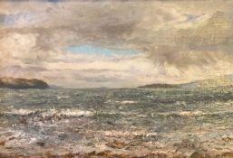 Broadford Isle of Skye by Scottish artist William Arthur Lawrie Carrick, Exhib RSA, RSW, GI, AAS