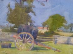 Stuart Carmichael 1867-1950 The cider Cart