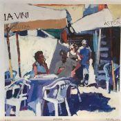 "Signed limited edition print ""Astoria Vini"" by Scottish artist Mairi Aitken"