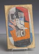 "Dohnal, Josef (geboren 1912), ""Bagatelle"", Öl/Malkarton, li. u. sign. u. dat. (19)83, rs.sign.,"
