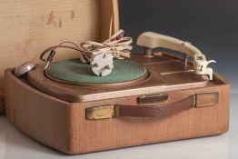 Tragbarer Plattenspieler 50er Jahre, Dual Party 295 sog. Kofferplattenspieler (Funktionnicht
