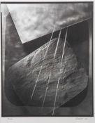 """Odvody, Pavel (geb. 1953), """"Mit Schiefer"""", Fotografie (Nummer 5/10),Bromsilbergelatinebazug, re."""