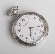 Herrentaschenuhr (International Watch Company), Silber 800, Ziffernblatt bez. JuwelierClasen