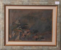 Paraschiv, Christian (geboren 1953), Abstrakte Komposition, Acryl/Karton, re. u. sign. u.dat. (19)