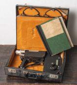 Fairchild 900, 8 mm Tonfilmkamera, 1960er Jahre, Objektiv Brennweite 9-30 mm,Öffnungsweite F/1,8,