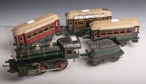Konvolut von Spielzeugeisenbahnen, Hersteller K.B.N. (Karl Bub Nürnberg, wohl um 1930,