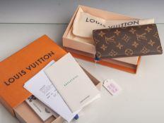 Louis Vuitton-Set, zwei Teile, bestehend aus: Monogram Agenda-Poth Men's Women's Handbookcover,