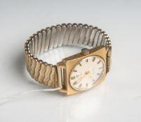 "Herrenarmbanduhr ""Tissot"" (Seastar Seven, wohl 1950/60er Jahre), Automatik, Stretchband,vergoldet."