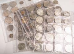 Gr. Konvolut von Münzen (18.-20. Jahrhundert), 199 Stück, verschiedene Länder, u.a. BRDSondermünzen,