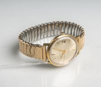 "Herrenarmbanduhr ""Consul"" 750 GG (Schweiz, wohl 1950/60er Jahre), Automatic, 30 Rubis, m.goldenen"