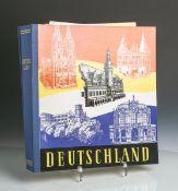 """Schaubek Briefmarkenalbum """"Deutschland. Besatzungszonen"""", bearb. u. verl. v. C. F. Lücke,Schaubek"""