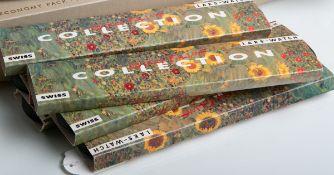 Original Gustav Klimt Collection bestehend aus 6 Armbanduhren (Ars Mundi, Laks-Watch1994), lim.