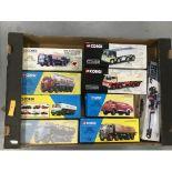 Lot 172 - Corgi Commercials (8 Items, box 119)