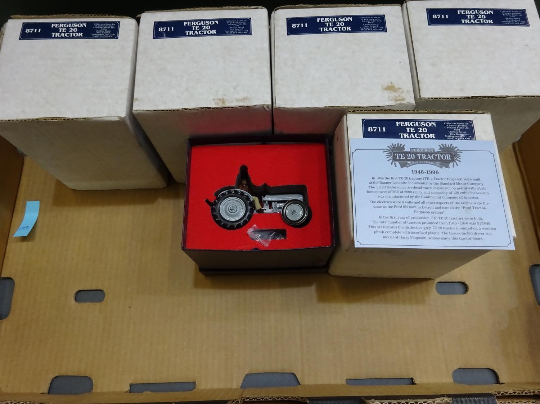 Lot 181 - Britains Ferguson Tractors 8711 (4 items, box 129)