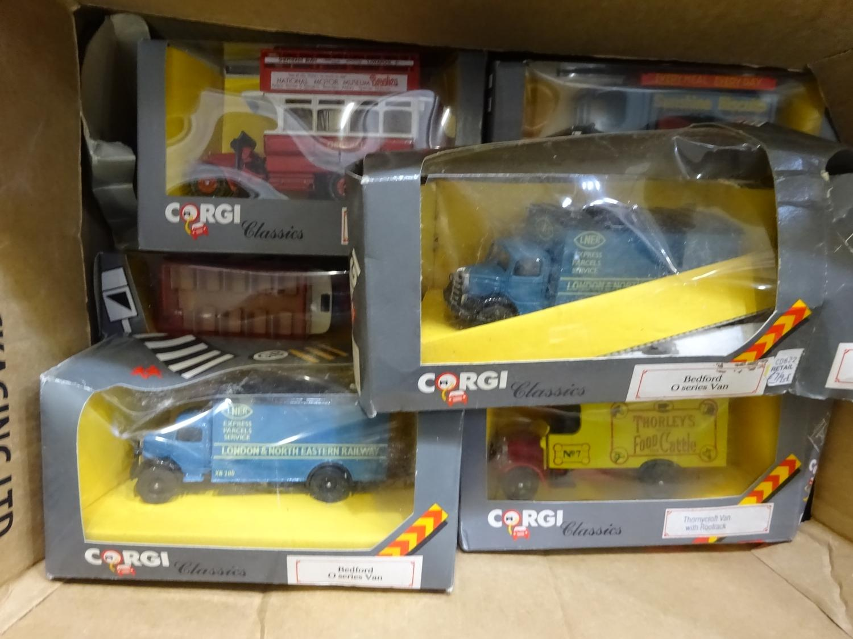 Lot 169 - Corgi Classics window boxes (13 ITEMS, BOX 116)