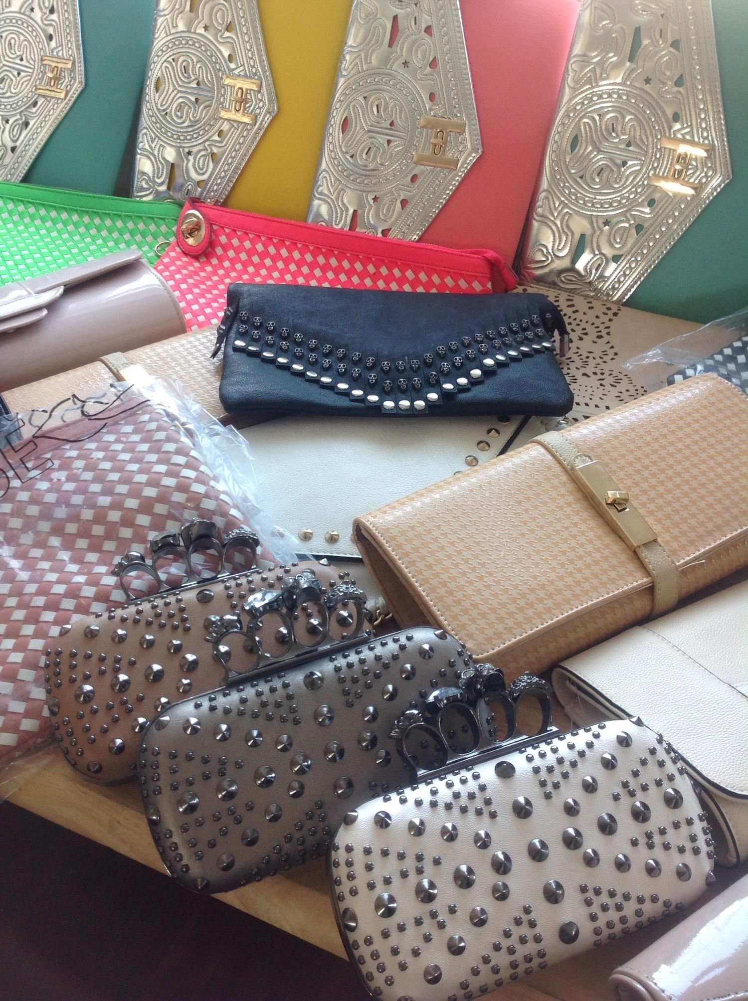 Lot 307 - Assortment of clutch bags, appox 40 - rrp £20