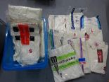 Lot 346 - Large selection of cricket tops and trousers, various sizes