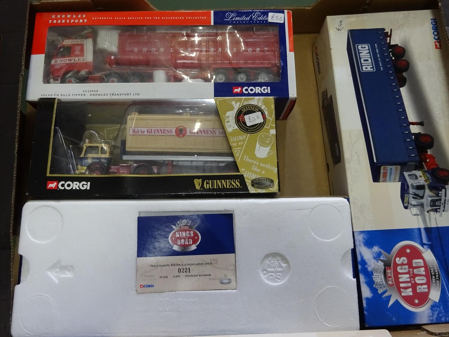 Lot 168 - Corgi CC Limited Edition 1:50 Scale (4 ITEMS, BOX 115)