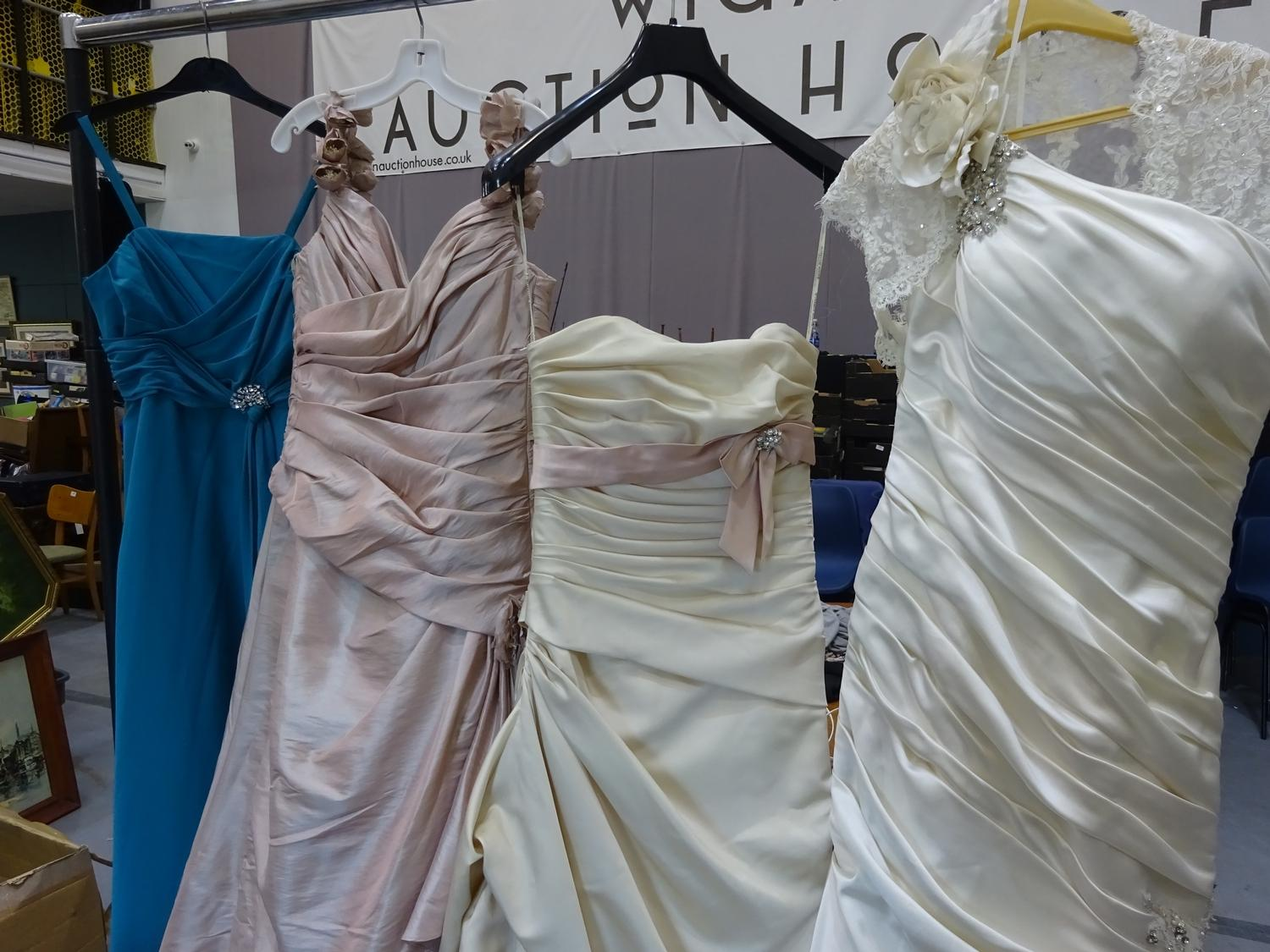 Lot 328 - (11) 3 x Maggie Sottero wedding gown samples, total rrp £2370