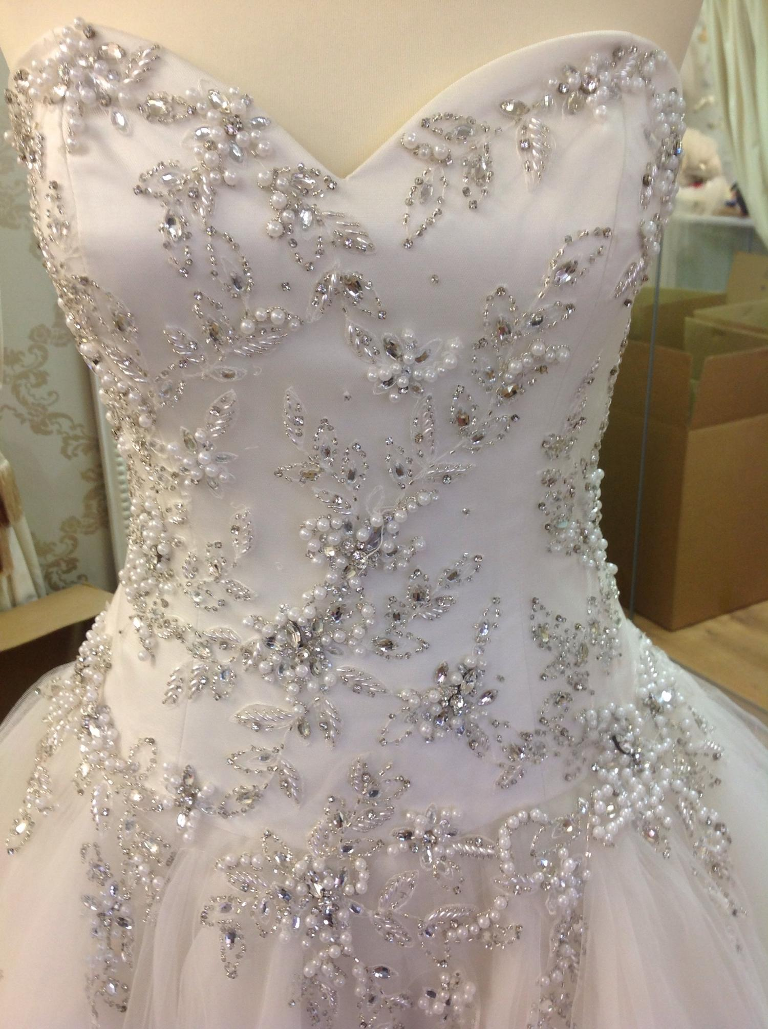 Lot 321 - (4) 3 x Ronald Joyce wedding gown samples, size 14, total rrp £2299