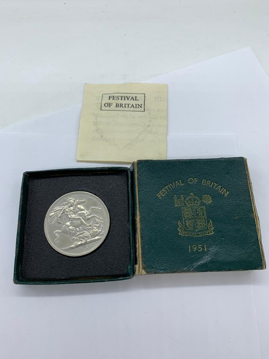Lot 31 - A 1951 Festival of Great Britain Crown