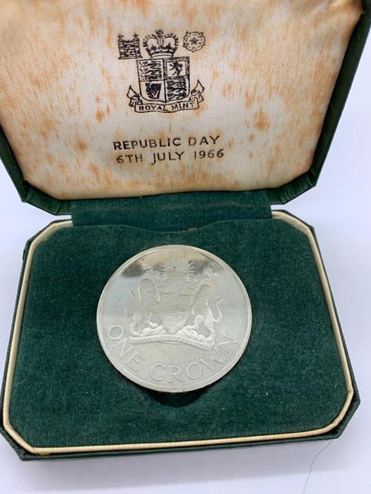 Lot 11 - A Republic of Malawi 6th July 1966 Republic Day Crown.