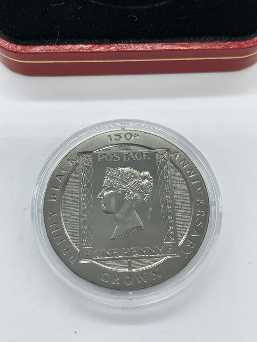 Lot 6 - An Isle of Man 1990 150th Anniversary of the Penny Black Crown