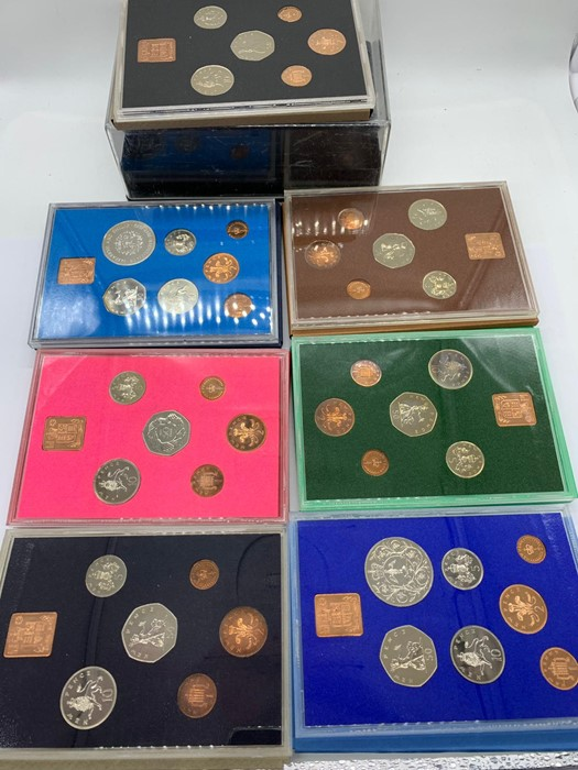 Lot 47 - A Selection of proof coinage of the United Kingdom 1972- 1978