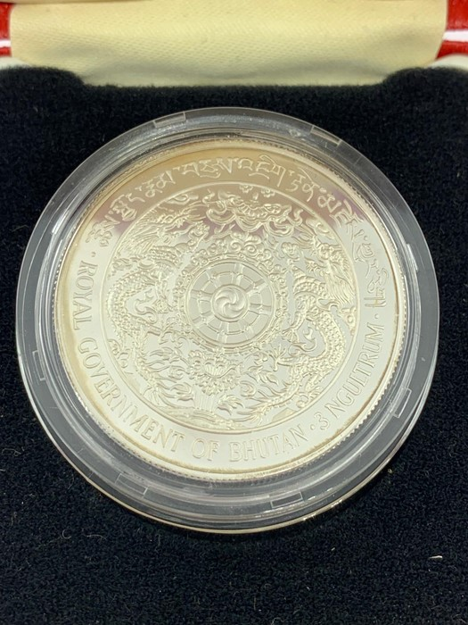 Lot 4 - A 1970 Isle Man Silver proof Crown (Box AF)