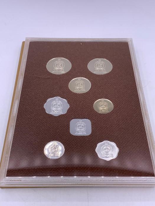 Lot 59 - Commonwealth coin proof set for Sri Lanka 1978