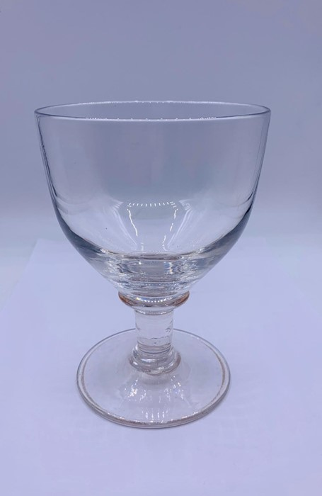 Lot 143 - A Rummer with oval bowl
