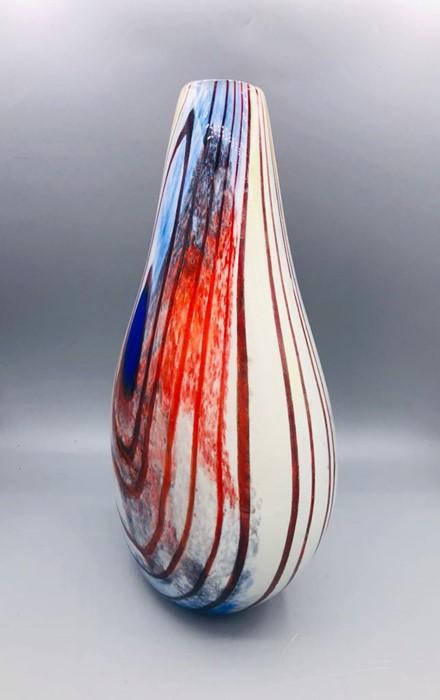 Lot 133 - A Scottish encased glass vase