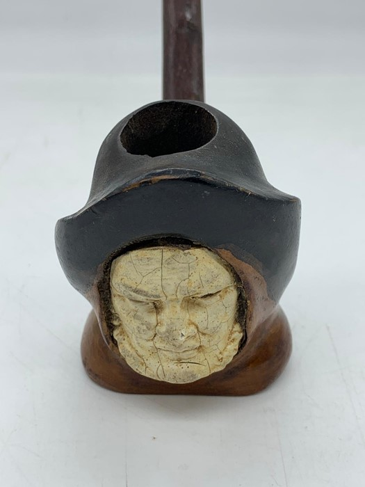 Lot 161 - A Pipe in the style of a Fisherman.