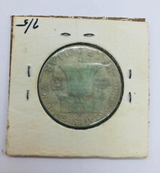 Lot 116 - A 1949 American Half Dollar