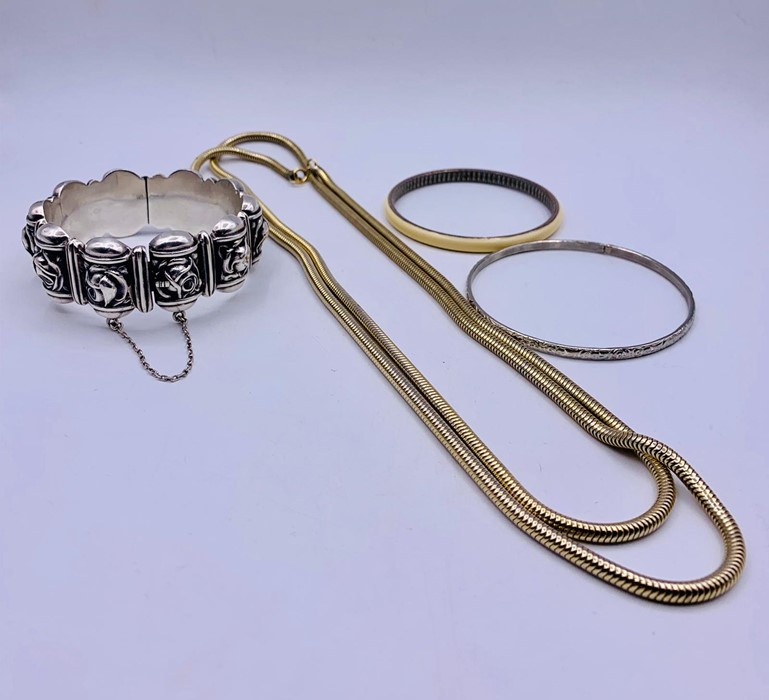 Lot 78 - A selection of Costume jewellery including silver
